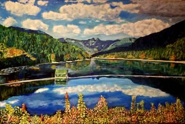 Cleveland Dam reborn by Dennis64
