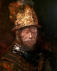 Man with Golden Helmet  (quick sketch)