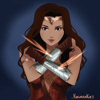 Wonder Woman by kawasakies