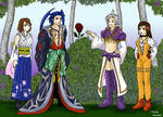 Get The Rose - Yuna X Seymour  Kuja X Garnet by LotusDesert