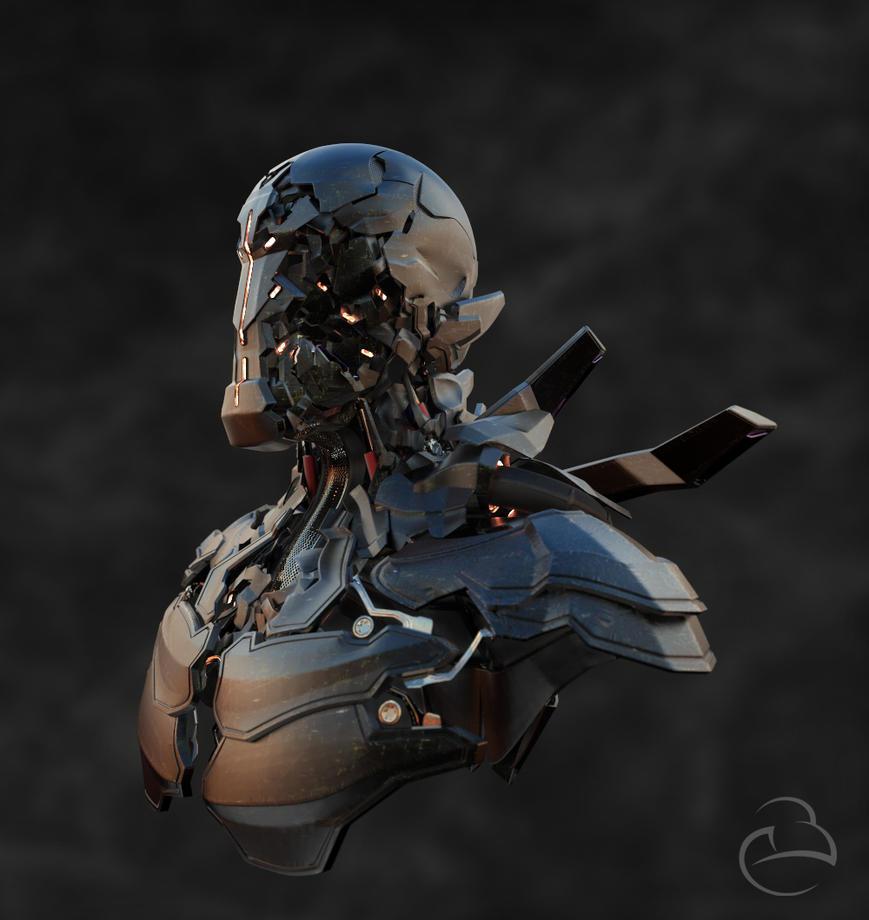 Character Series 00 - Robot3 by Peet-B