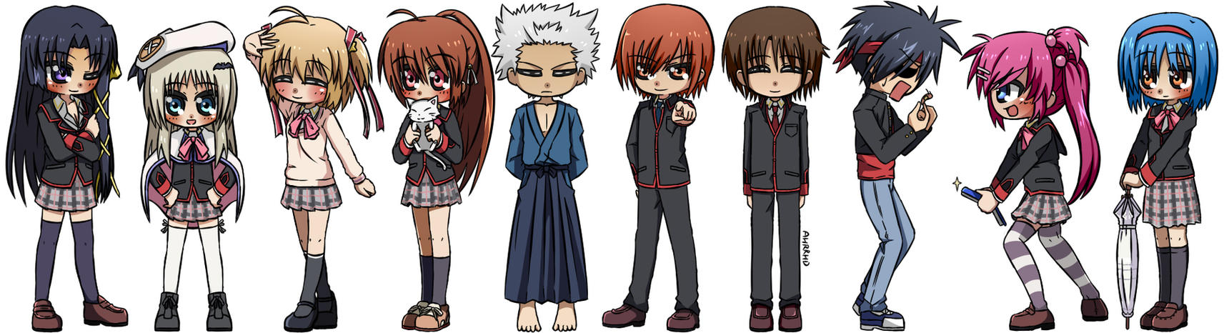 Little Busters by Ahrrhd