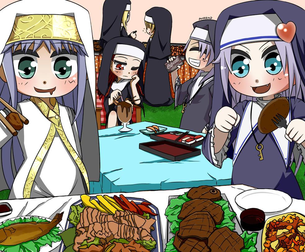 Food Time! by Ahrrhd