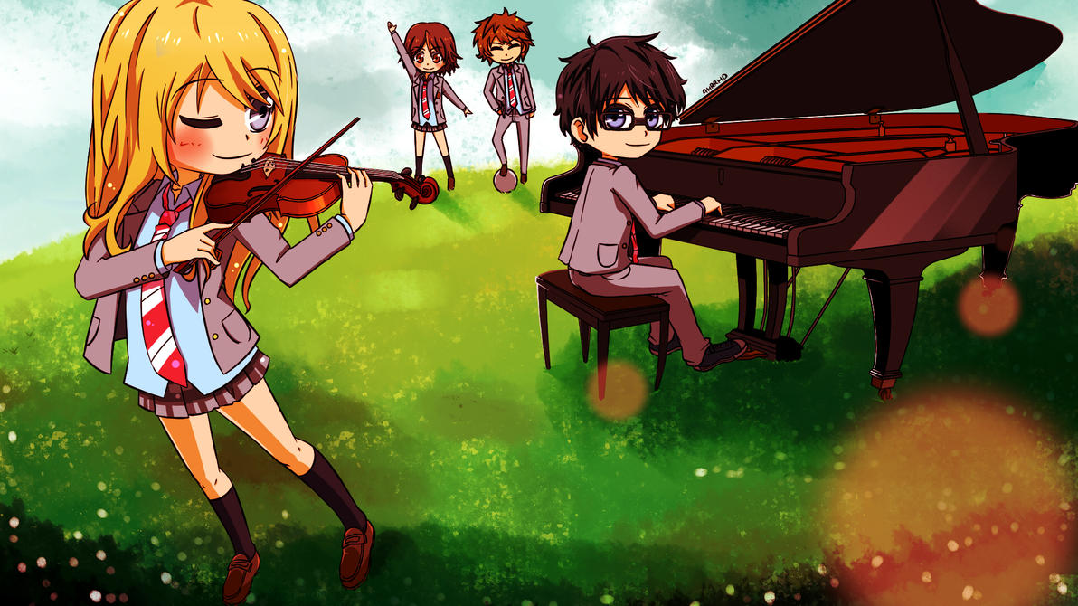 Your Lie In April by Ahrrhd