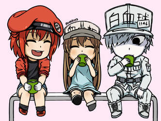 Cells at Work! by Ahrrhd