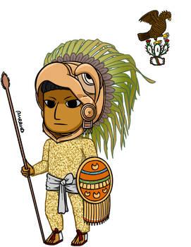 15-16th Century Aztec Eagle Warrior