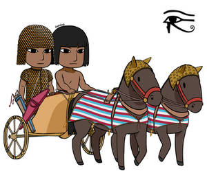 13th Century BCE Egyptian War Chariot