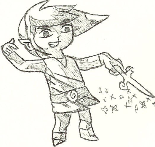 Link of Wind Waker by Trilby70