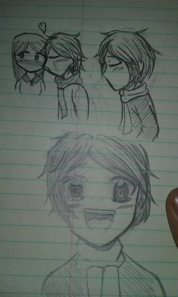Fan art sketch practice  by baileyjustin14