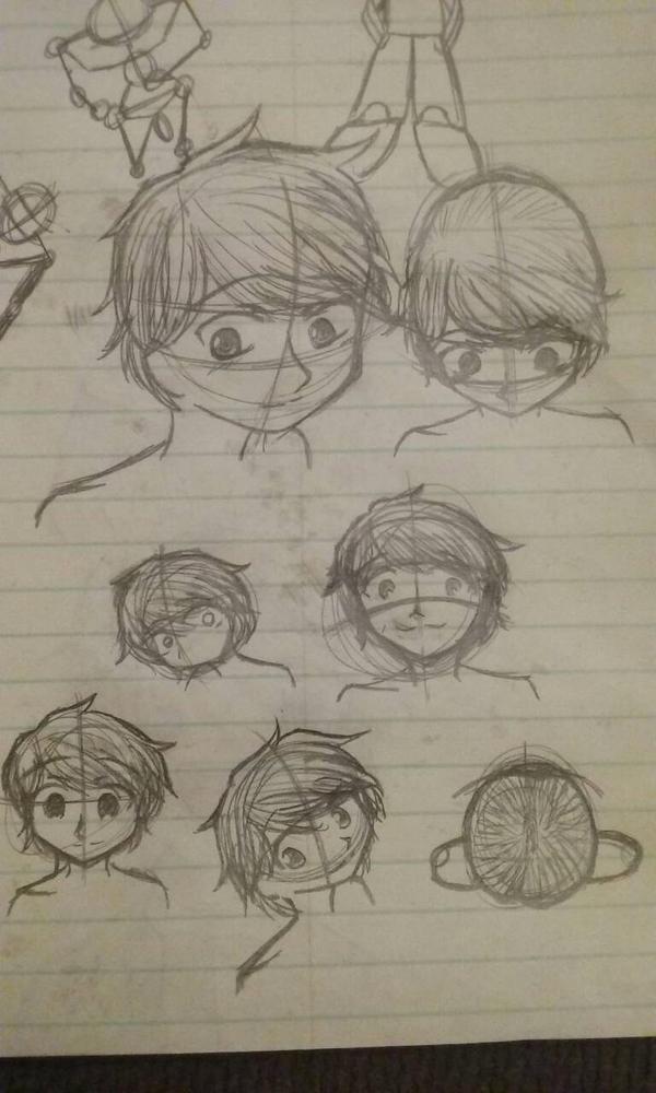 My Manga character practice  by baileyjustin14