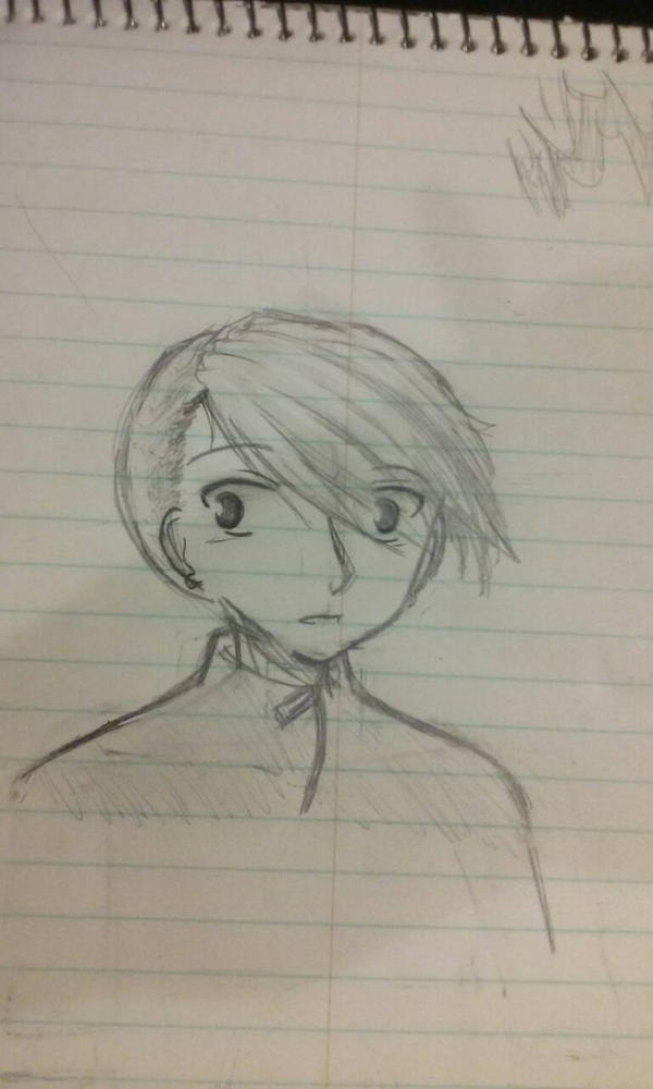 Nother character for my manga  by baileyjustin14