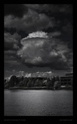 Bedfont Cumulus over Lake