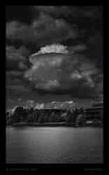 Bedfont Cumulus over Lake by Deviant-Darkr