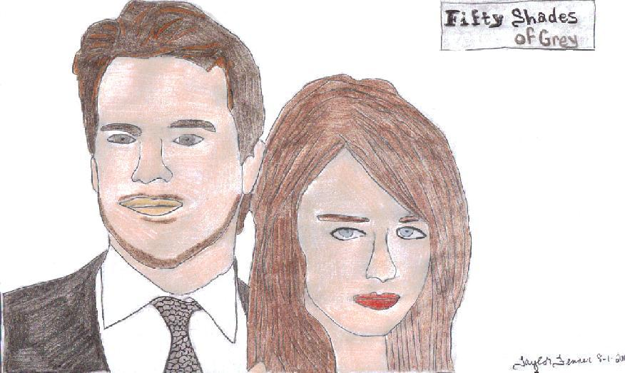 Fifty shades of grey drawing by taylorfenner on deviantart for What kind of movie is fifty shades of grey