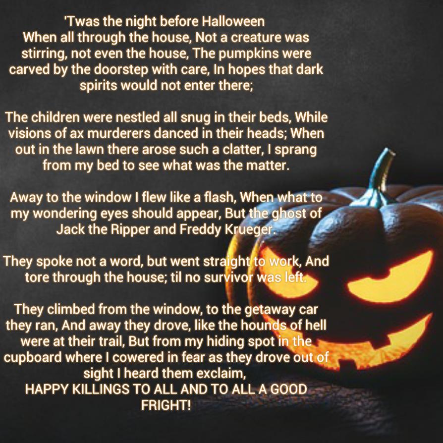 Twas The Night Before Halloween by TaylorFenner on DeviantArt