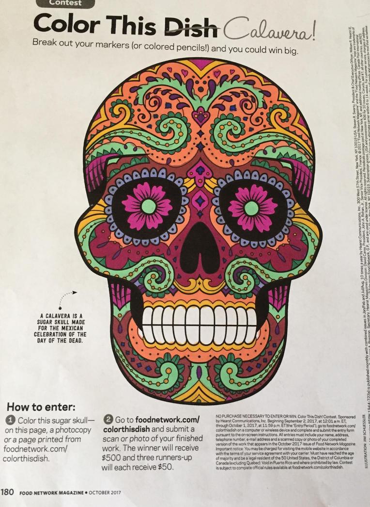 Sugar Skull by TaylorFenner