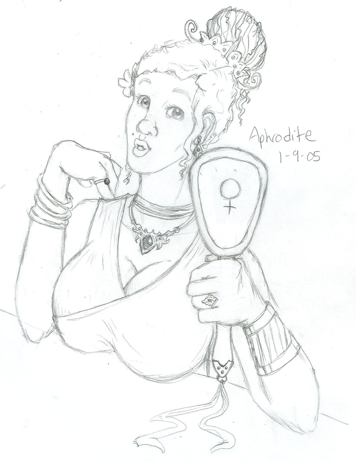 Aphrodite by faerie-chan