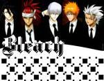 Checkered Bleach Wallpaper