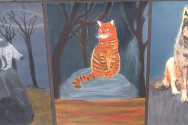 Garfield? No that's Kelvin by Jozzieblood