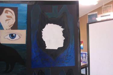 Wolf head by Jozzieblood