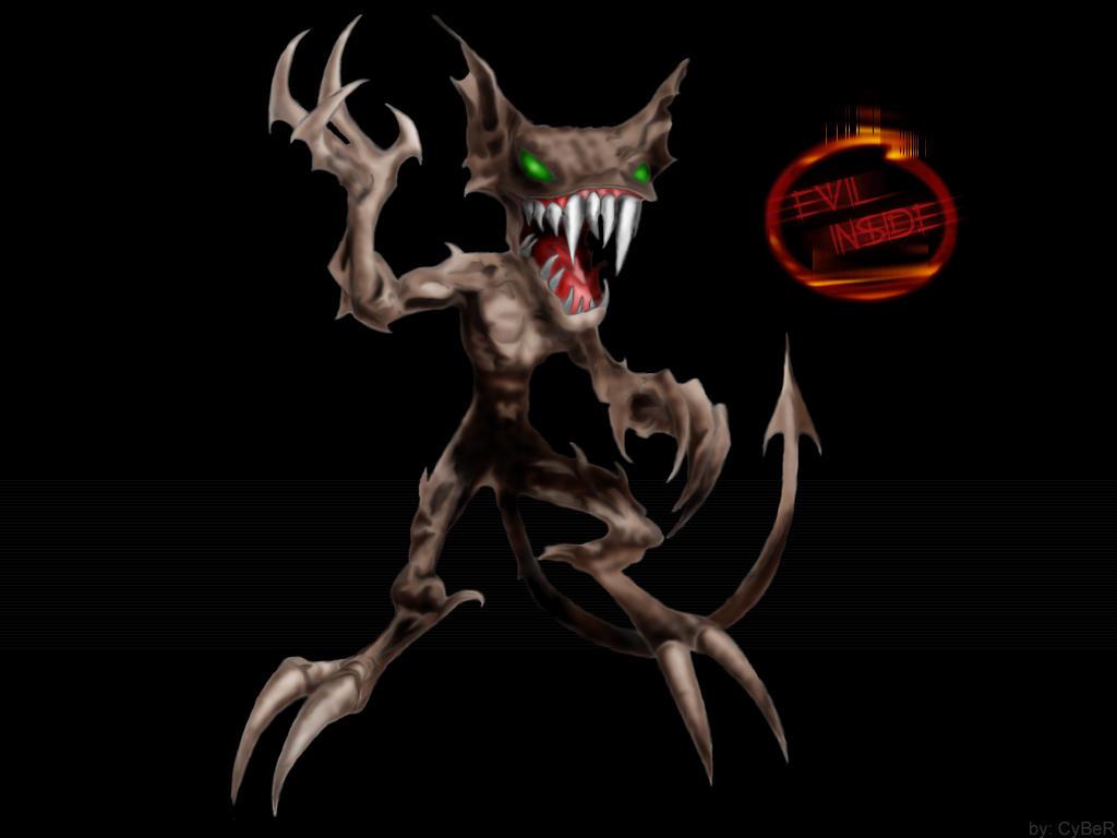 EViL iNSiDE Demon by cyber