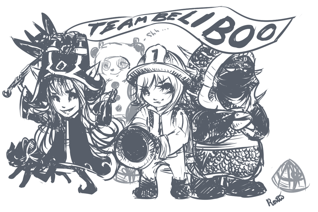 Team Beliboo! (League of Legends) by Rorani