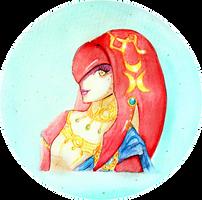 Princess Mipha by Lumoni