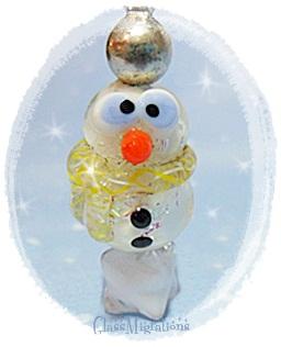Sparkles the Snowman by glassmigrations