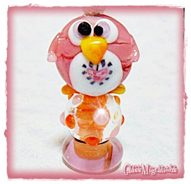 Pinky the Penguin by glassmigrations