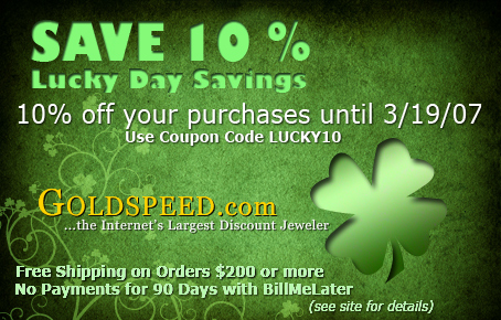 St Patrick's Day Ad by webgentry