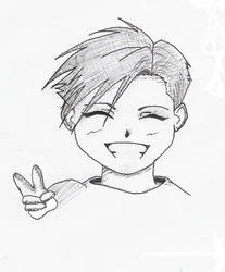 Alphonse Elric kid by oni18