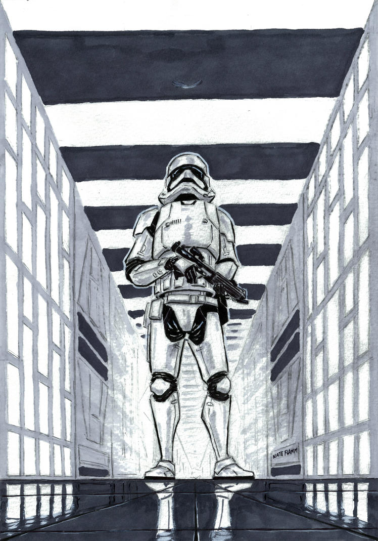 New Stormtrooper by NateFlamm