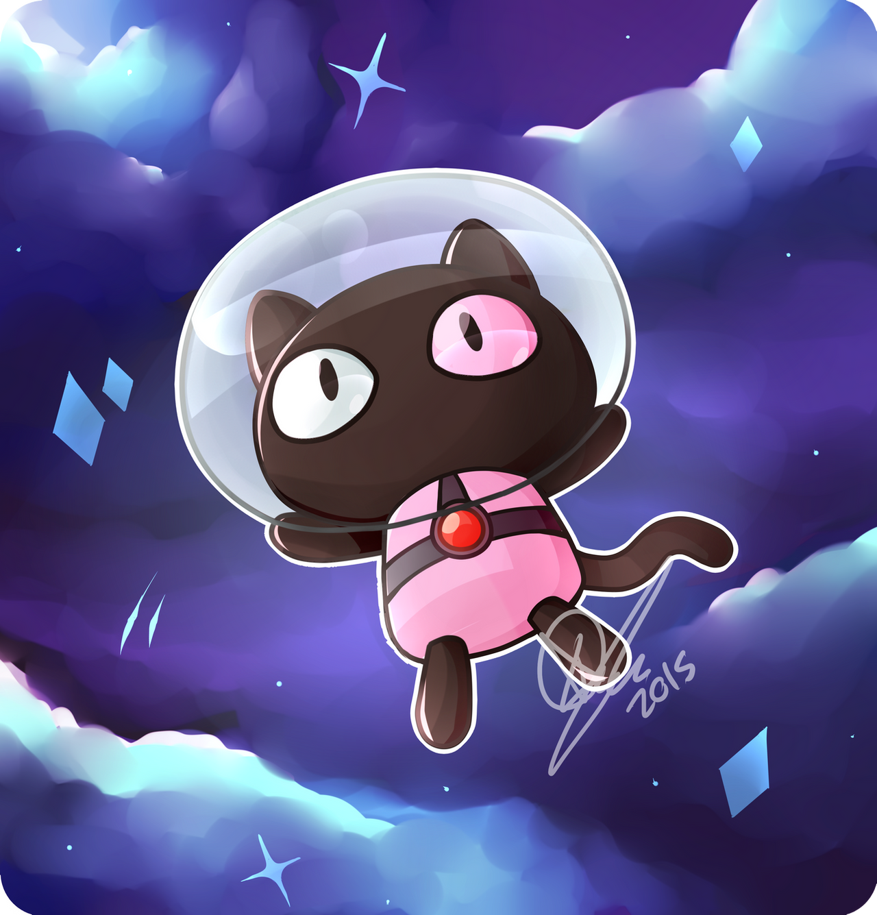 Hes A Pet For Your Tummy Cookie Cat By KeezaPepper On DeviantArt