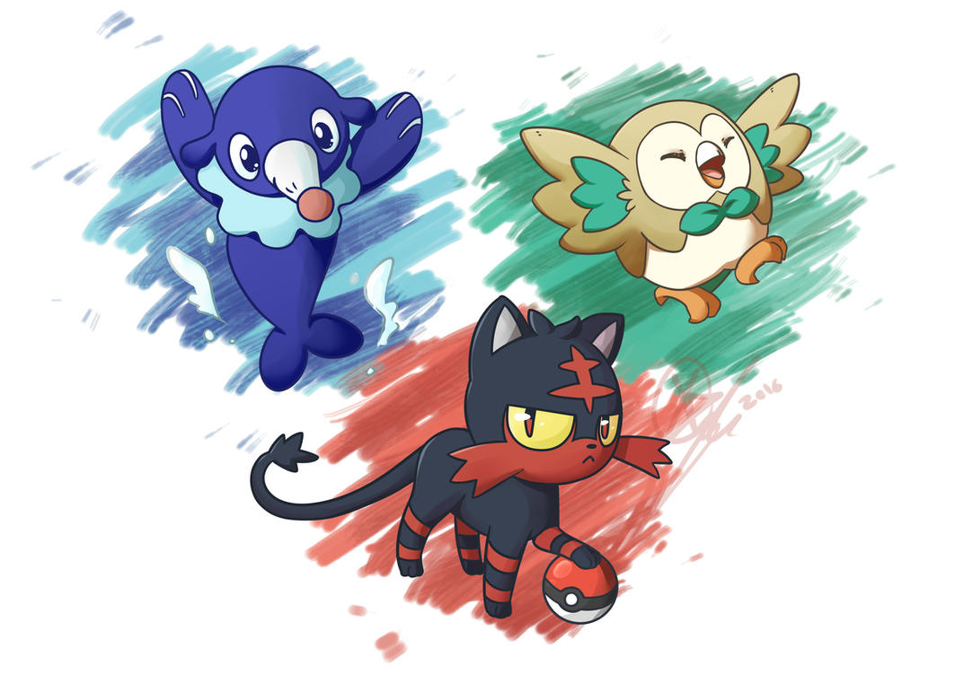 The new starters by KeezaPepper