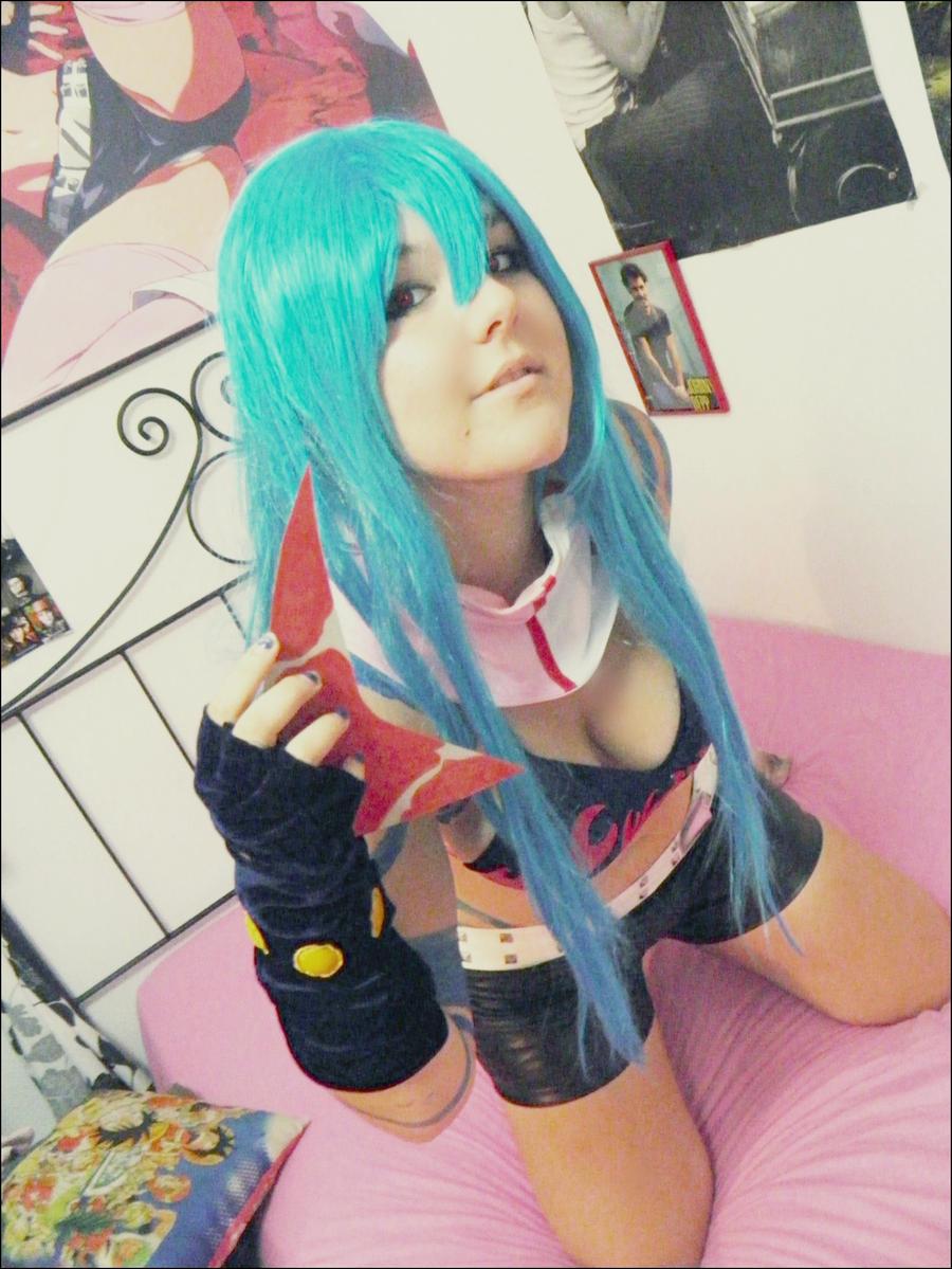Kamina Genderswap 04 by TakagiTsundere