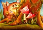 hiding by DenaHelmi