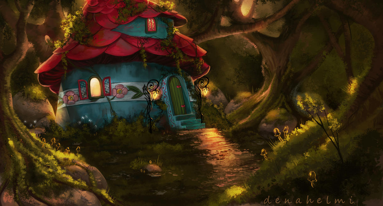 the enchanted house by denahelmi