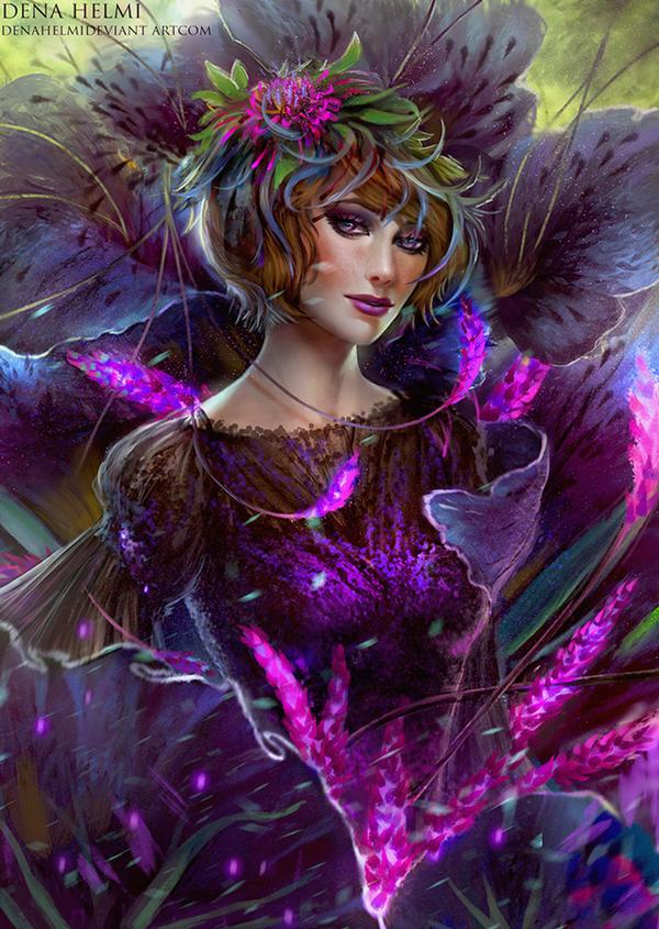 Princess flower by denahelmi