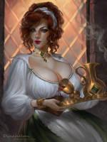 commission : Maggie by DenaHelmi