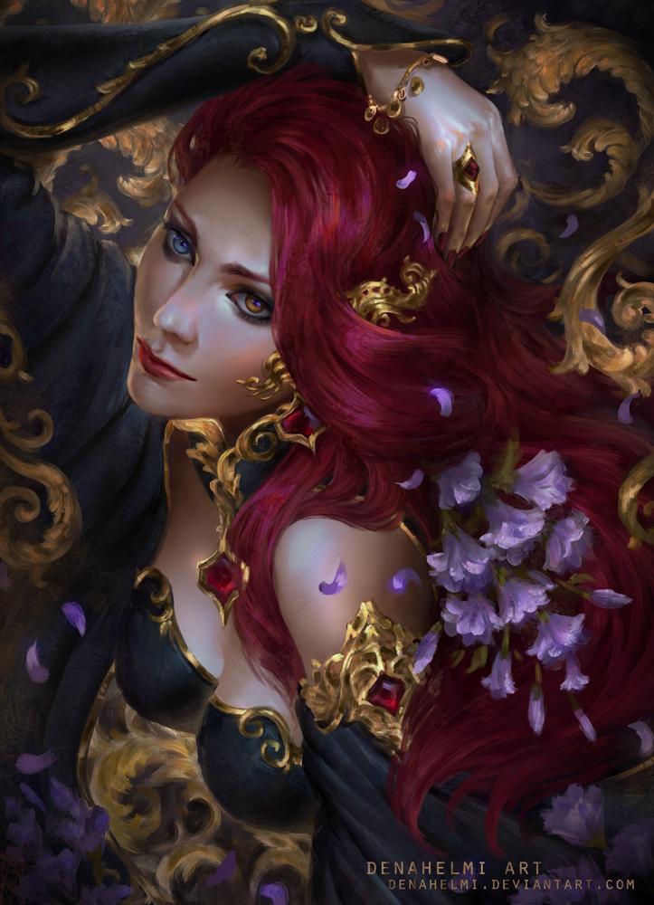 Vampire kiss by DenaHelmi