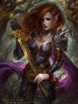 Aribeth [commission]