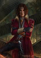 Darius Asher [commission] by DenaHelmi