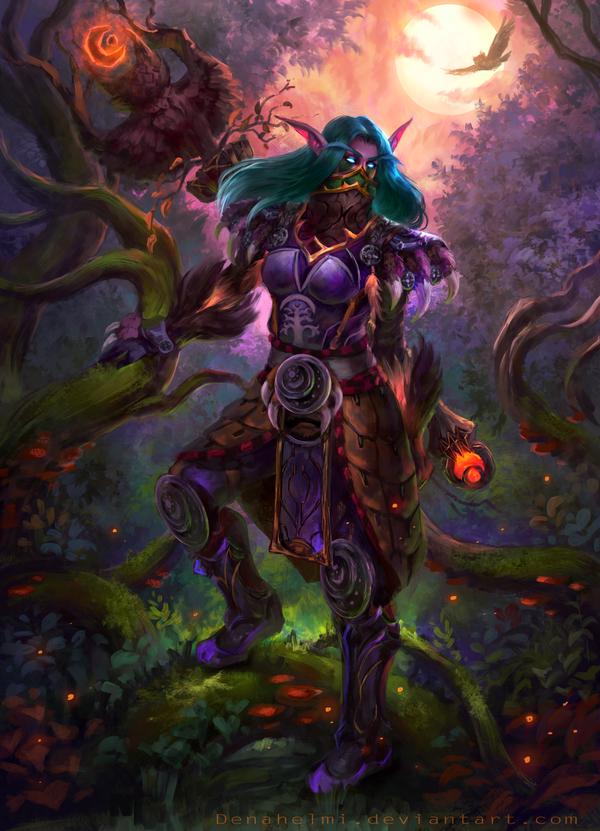 Ravenbreeze [commission] by DenaHelmi