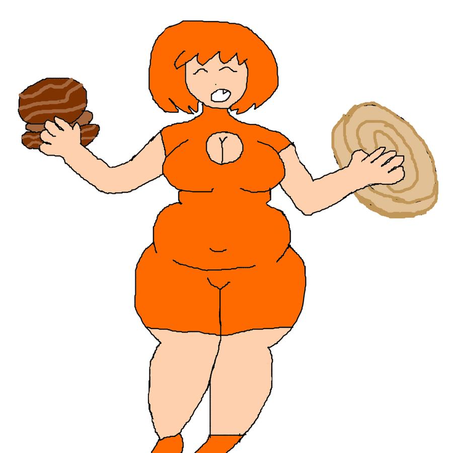 another orange girl draw by Midori-Akai