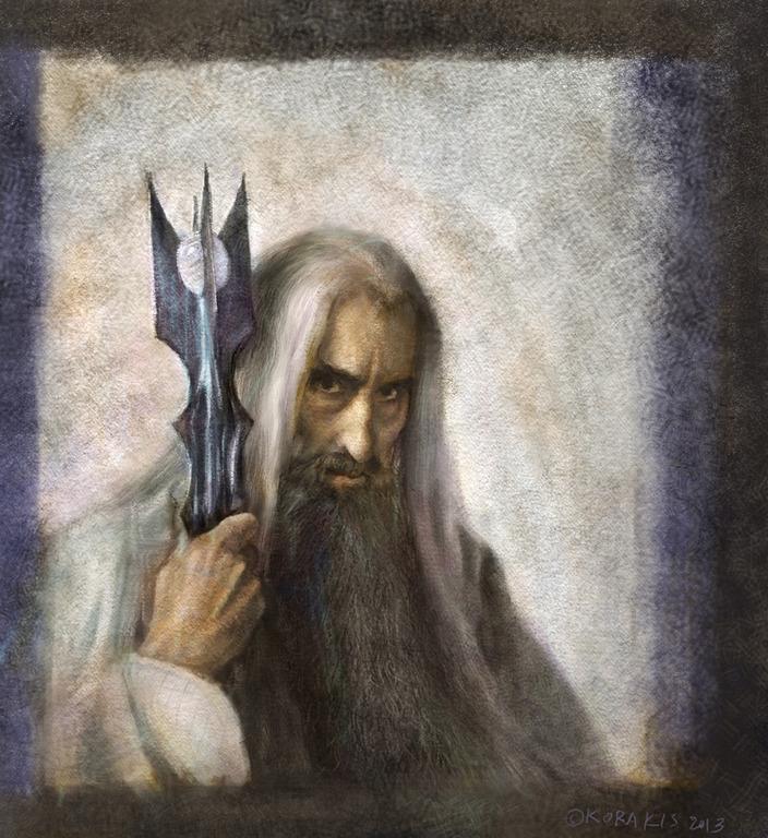 Saruman by alexkorakis