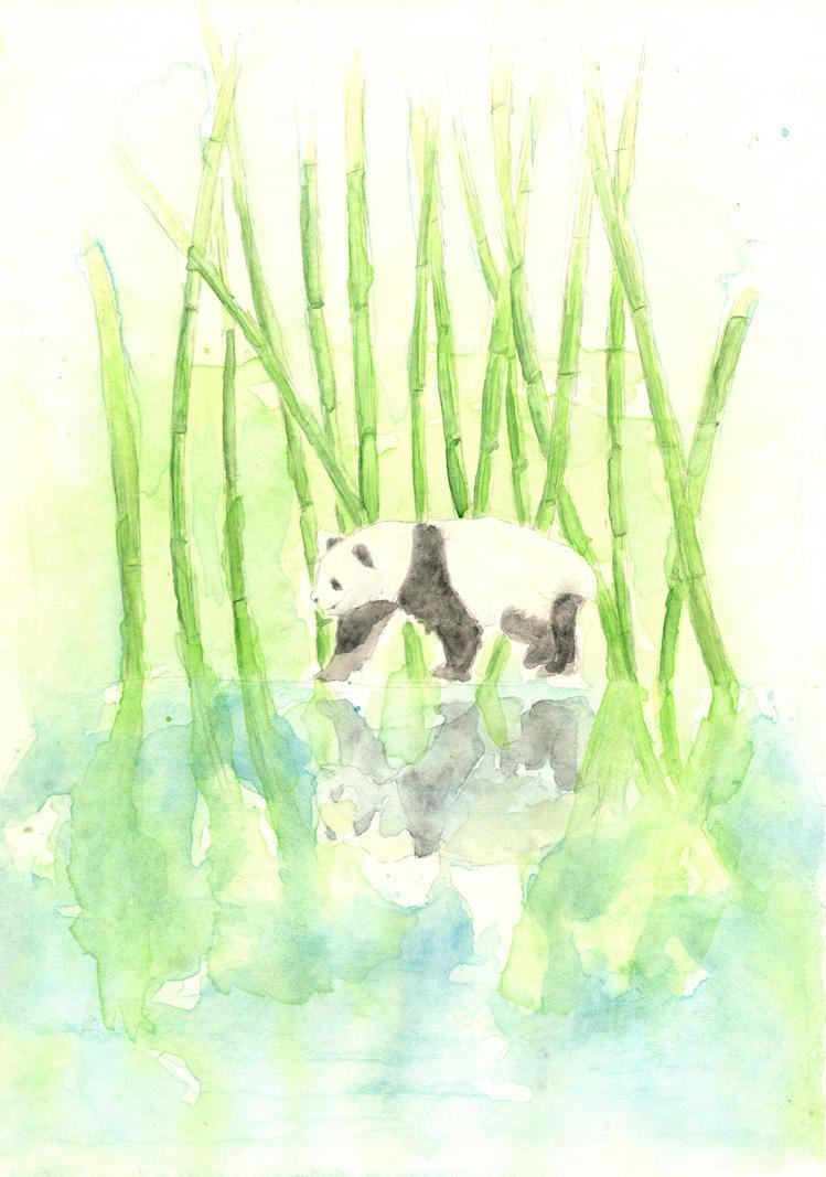 Panda by Jinzhi