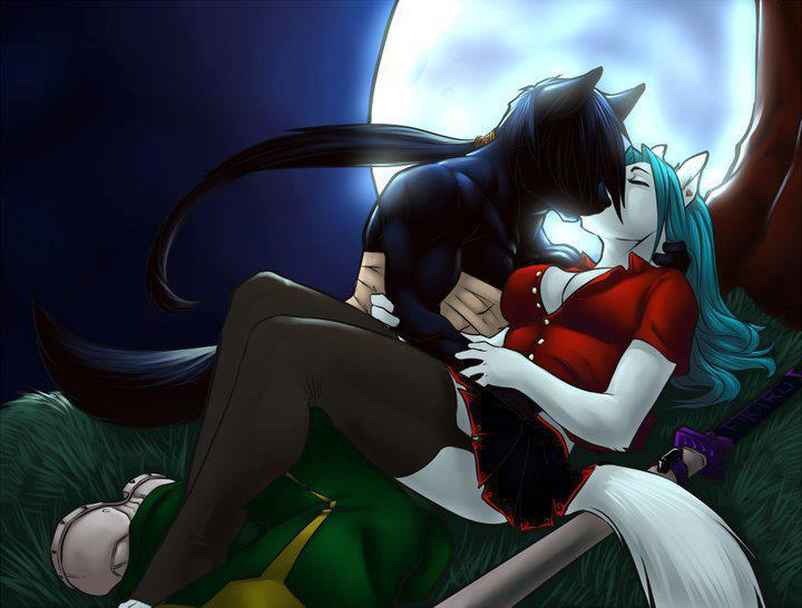 Furry Couple ~Love~ by Venquish