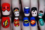Justice League Nail Art