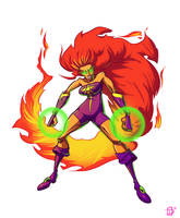 Starfire Redesign by Dustin-C