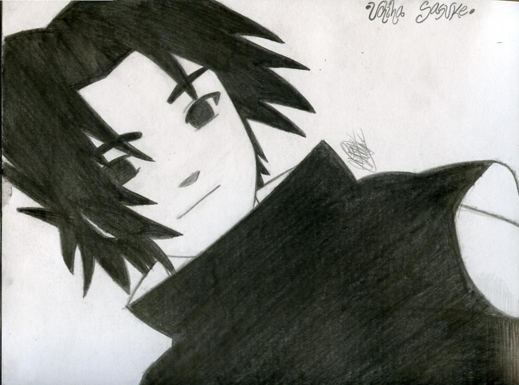 Sasuke's smile by KuroHane